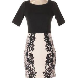 LC Lauren Conrad Floral Tie Back Sheath Dress 2